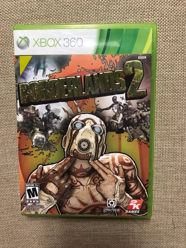Borderlands 2 For XBOX 360 With Instruction Booklet Tested & Works