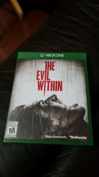 Xbox One The Evil Within  Barrie, L4N 8T5