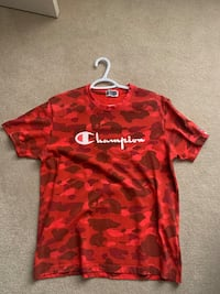 Bape x Champion Red Camo Burlington, L7M 4Y8