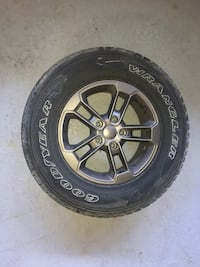 black and gray vehicle wheel with tire North Vancouver, V7M 2H4