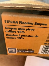 Flooring staples