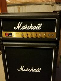 black and gray Marshall guitar amplifier Vaughan, L6A 3H3