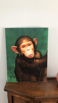 Hand painted chimpanzee Columbia, 21044
