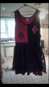 Arkham city Harley Quinn Halloween dress only Halifax, B3R 1H1