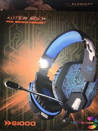 Gaming Headset with Mic for PC Mac Laptop PS4 Xbox one Nintendo Surround Stereo Sound