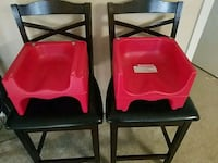 2 Double Sided Child Booster Seats