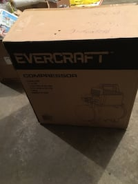 Evercraft air compressor new in box  3167 km