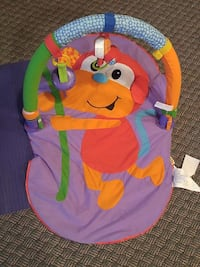 orange,purple, and green monkey print activity mat Ontario, M9W
