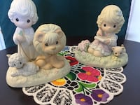 Two white ceramic collectable Precious Moments / Precious Moments figurine each is $25 on sale now / select the ones you love Alexandria, 22311