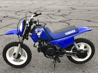 blue and white Yamaha motocross dirt bike Frederick, 21703