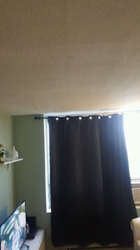 2 panel black black out curtains Mississauga, L5L 5S1
