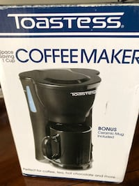 coffee maker with mug