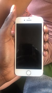 silver iPhone 6 with brown case Silver Spring, 20901
