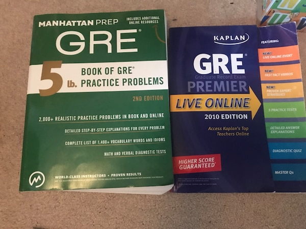Gre Study Book >> Used Gre Study Books For Sale In Gautier Letgo