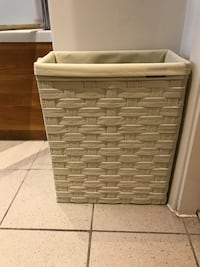 Small cream laundry basket Preston, PR1 2AR