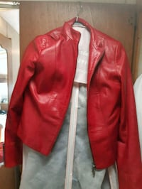 red and white zip-up jacket Richmond, V6X 2S5