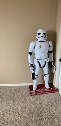 White and stormtrooper action figure Upland, 91786