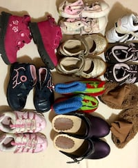 10 pairs kids shoes in different sizes Oakville, L6H 3L1