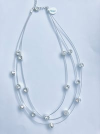 3 rows necklace with crystals brand new  New York, 11360