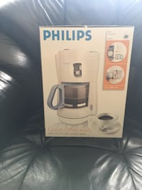 vit Philips kaffebox