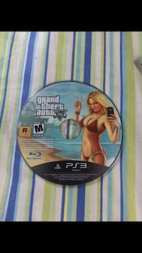 Grand theft auto five ps3 game disc