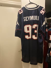 NFL Patriots Richard Seymour Jesery 2XL Like New!  Summerville, 29485