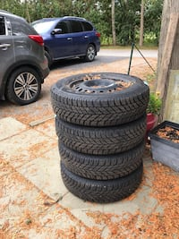 GM rims and 17 inch winter tires Puslinch, N1H 6H9