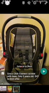 Car Seat, Walker, & Size 1 diapers