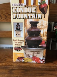 Chocolate Fountain-Perfect for Memorial Day Parties! White Marsh