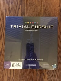 Trivial pursuit master edition  Oakville, L6L 4G8