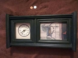 Wooden Mini Mantel Clock