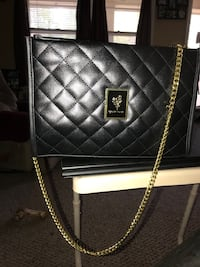 Black Quilted Younique Bag