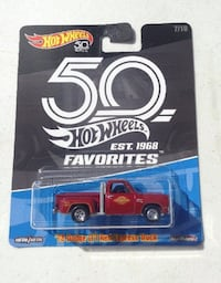 Hot Wheels 50th Favorites '78 Dodge Li'l Red Express Truck Oklahoma City