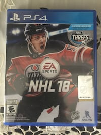 Almost new NHL 18 PS4 game  Calgary