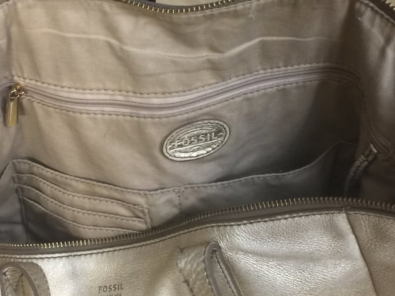 Fossil tote - genuine leather d1063d4e-2d75-4d1c-97a6-424278eed783