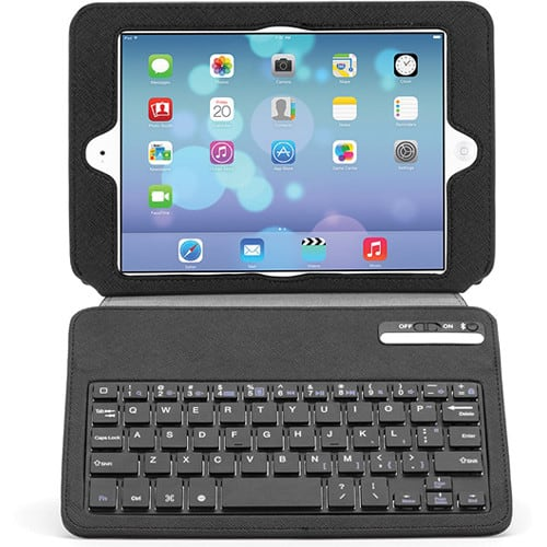 Slim Keyboard Folio Case for New iPad/iPad Air  0