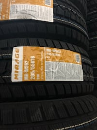 Mirage Snow Tire 205/55R16 549 km