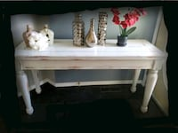 Sofa table or console table refinished solid wood  Edmonton, T5Y 2S9