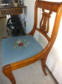 Vintage needlepoint chair Westminster, 80030