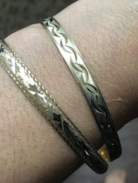 10k Bangles $500 FIRM for both or $300 each Edmonton, T5W 0P8