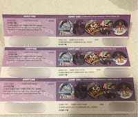3 Great America Tickets San Francisco, 94134