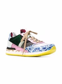New Authentic Dolce Gabanna Multicolor Sneaker Richmond Hill