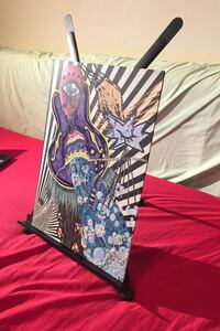 Canvas stand and painting together $5 Toronto, M5A 2E2