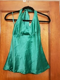 Women's green halter top Toronto, M6C 1C5