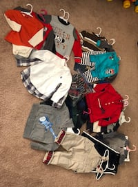 Boys 18 to 24 months fall/winter lot. Please see description below for contents in this lot. Fairmont, 26554