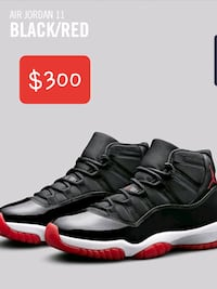 Air Jordan 11 'BRED' Black/Red Bowie, 20720