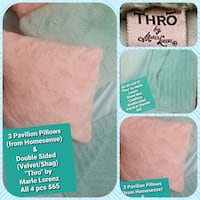 Cant go out? We Deliver!!one pink pillow sold Quality luxury Decor set London, N5X 2P4