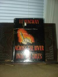 First edition Across the River and into the Trees