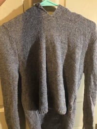 gray and black knit sweater Tomball, 77377
