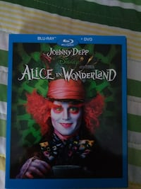 Disney Alice Through the Looking Glass DVD case